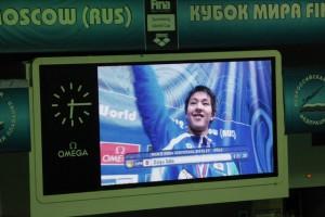 Азиатские пловцы уверенно выступили в Москве