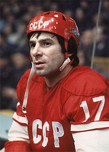 Великий советский хоккеист Валерий Харламов