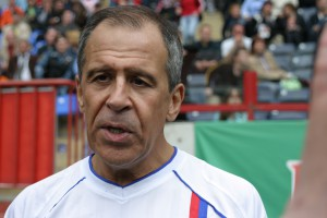 Сергей Лавров - дипломат и футболист