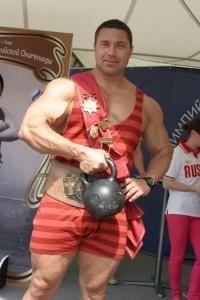 Легендарный русский богатырь Иван Поддубный