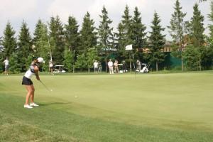 Точность в гольфе - сестра таланта