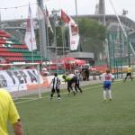 Ответный гол в ворота греков в первом тайме