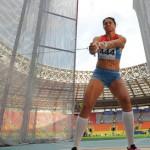 Чемпионка мира в метании молота Татьянна Лысенко
