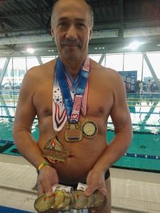 В Турине на Всемирных играх ветеранов Ярослав Новицкий был на высоте