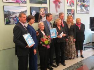 Звезды советского и российского спорта на фотовыставке в Госдуме