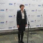 Татьяна Сандерс, глава Департамента компании Visa