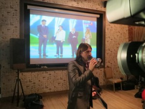 Виртуоз футбольного репортажа Владимир Стогниенко