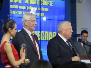 Почетный президент ОКР Виталий Смирнов охарактеризовал успехи трехкратного олимпийского чемпиона по гребле Вячеслава Иванова как фантастические!
