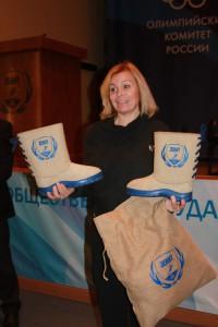 Неожиданный подарок для олимпийской чемпионки во велоспорту Ольги Слюсаревой