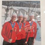 Команда советских биатлонистов, чемпионов Игр-1972