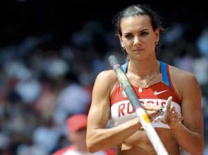 Великая российская прыгунья с шестом Елена Исинбаева, претендент на новую награду Лауреус