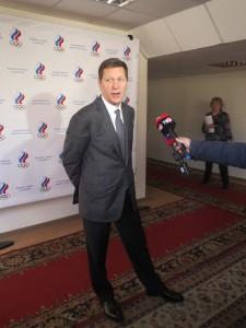Президент ОКР Александр Жуков с журналистами был предельно откровенен