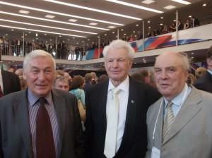 Радостная встреча с  Борисом Лагутиным. Он побеждал на олимпиадах и чемпионатах мира