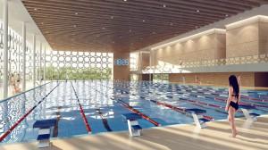 Компьютерная пловчиха мечтает о стартах 2017 года в новом бассейне. Ее соперники на походе