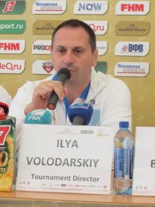 Директор турнира Илья Володарский