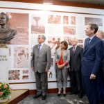 Открытие бронзового бюста памяти Сергея Павлова
