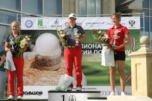 Нина Пегова - молодая яркая звезда российского гольфа