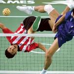 Волейбол с теннисными правилами