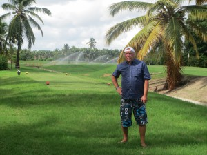 Я на пустынном поле для гольфа осознал его величие