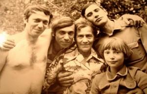 Анна Васильевна не была обделена любовью детей и внуков