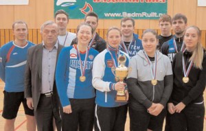 В дни зимней Универсиады студенты МГУЛ выграли Чемпионат России по бадминтону