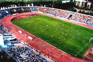 """Центральный стадион в  городе Астрахань, ставший для """"Локо"""" счастливым"""