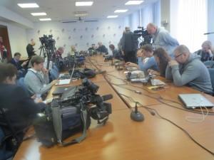 Журналисты в ожидании...
