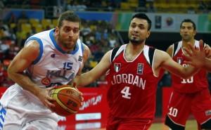 Баскетбол. Матч Греция -Иордания