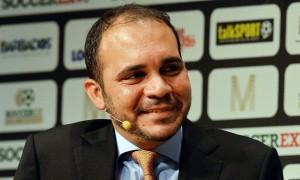Принц Иордании Али бин Аль-Хусейн, известный человек в мире футбола