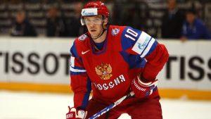 Лидер национальной команды Сергей Мозякин