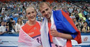 Доната Римшайте и Александр Лесун звезды российского пятиборья. Их с успехом телеграммой поздравил Президент России