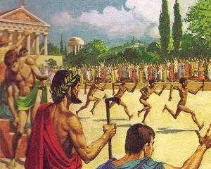 Олимпиада в Афинах и веселые бегуны без допинга.