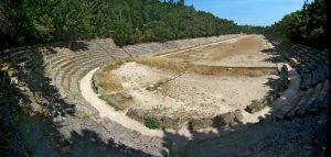 Древний стадион в Родосе