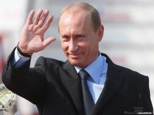 Президент России Владимир Путин, человек влюбленный в спорт
