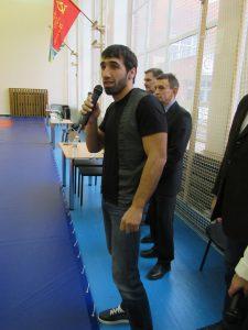 Олимпийский чемпион Хасан Халмурзаев происходящим доволен
